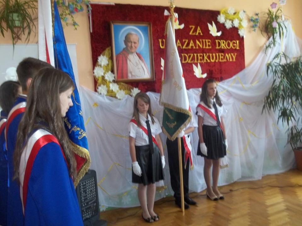Nadanie imienia Jana Pawła II naszej szkole