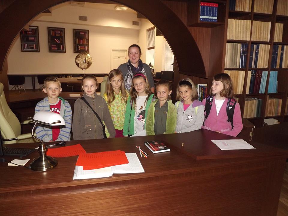 Wizyta klasy III w Przemyskiej Bibliotece Publicznej