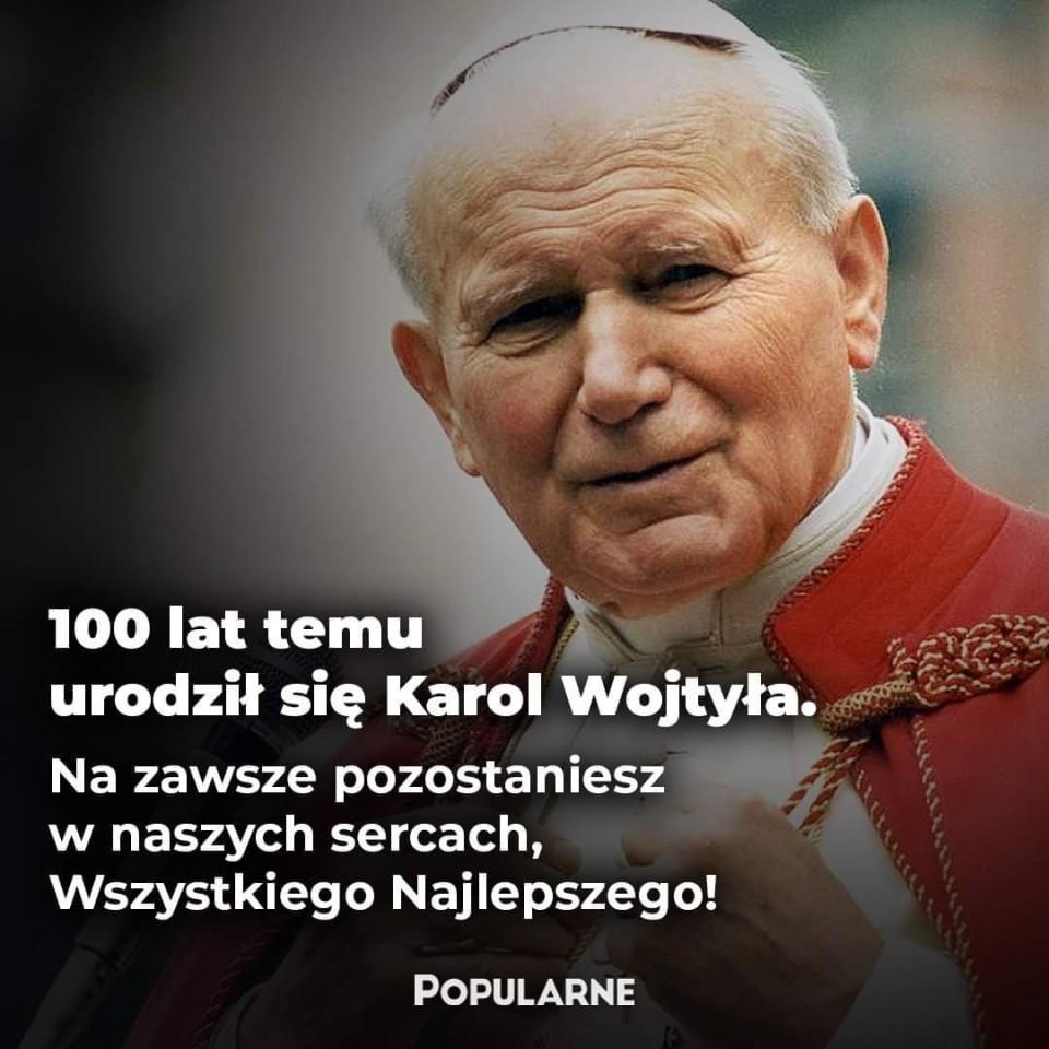 Laurka dla Jana Pawła II