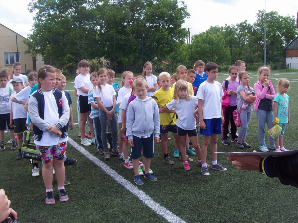 Zawody sportowe dla najmłodszych dzieci