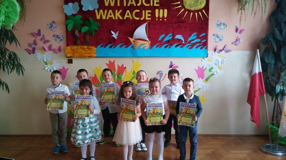 Uroczystość zakończenia roku szkolnego 2016/2017