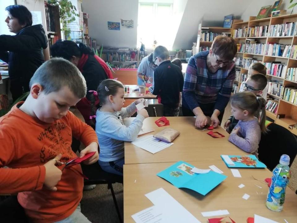Warsztaty w bibliotece dla dzieci