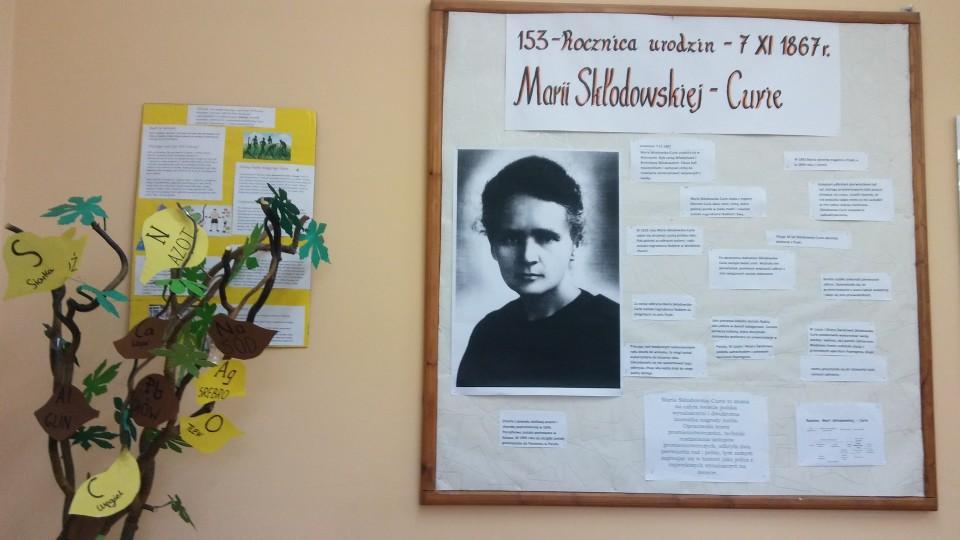 153 rocznica urodzin polskiej noblistki- Marii Skłodowskiej – Curie
